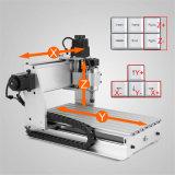 4 Mittellinie CNC-Fräserengraver-Maschine, gedruckte Schaltkarteen, Wegewahl u. Bohrung