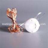 微笑Cr2032電池式の銅の銀製の多機能の点滅ストリング豆電球