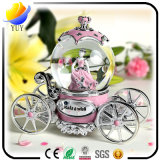 Gift requintado Sonw Globe e Novel Shape Music Box