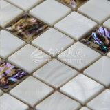 Mattonelle di mosaico madreperlacee delle coperture della tintura di alta qualità