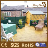 Cerca de madera compuesta al aire libre modificada para requisitos particulares del jardín WPC del verde del diseño