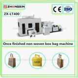Bolso de compras laminado no tejido del profesional que hace la máquina (ZX-LT400)