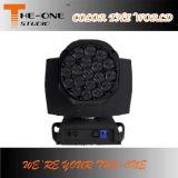 19X15W RGBW 단계 LED 이동하는 맨 위 꿀벌 눈 빛
