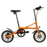 18インチの小型折る自転車または炭素鋼フレームまたはアルミ合金フレームまたは折るバイクまたは単一の速度または可変的な速度
