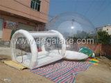 透過PVCまたはTPUの膨脹可能で明確なテントかドームのテント