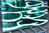 Glace estampée par Silk-Screen pour la façade