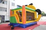 Gorila de salto inflable del castillo de la historieta para el partido de la escuela