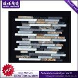 Mosaico de mármol de piedra natural del color mezclado de la cerámica de Juimsi para el azulejo de la pared del fondo