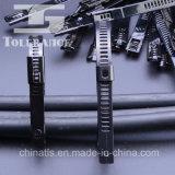Solides solubles 304, 316 serres-câble d'acier inoxydable