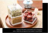 De met de hand gemaakte MiniDoos van het Suikergoed van de Kubus Acryl met Deksel