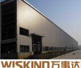 La costruzione di edifici d'acciaio proietta la struttura d'acciaio prefabbricata, costruzione della tettoia della struttura d'acciaio
