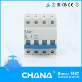 C65 тип автоматы защити цепи 6ka миниатюрные с утверждением IEC60898-1