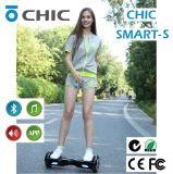 2016 het Nieuwe Slimme Saldo 2 Handen Vrije Hoverboard van de Batterij van Samsung van de Autoped van het Wiel Zelf In evenwicht brengende