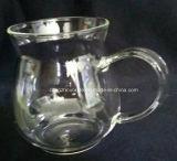 Taza del agua del vidrio de Borosilicate de la fábrica de China
