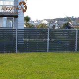 Загородка безопасности алюминия WPC напольного сопротивления погоды прочная для сбывания