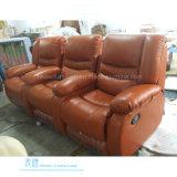 Modernes ledernes Recliner-Sofa für Heimkino (DW-2365-3S)