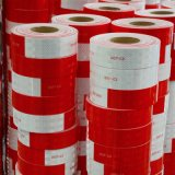 点C2の証明書が付いている赤くおよび白い反射テープ