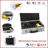 Instrumento terapêutico da onda de milímetro do equipamento da cura do diabetes da fisioterapia