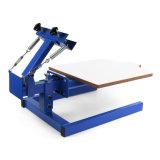 Одиночная печатная машина давления экрана цвета