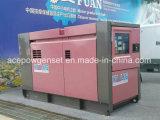 Generatore diesel silenzioso eccellente a tre fasi di Isuzu 25kw di monofase