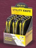Outil de quincaillerie 18mm Couteau à coupe en plastique Black Blade