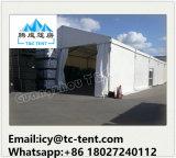 Большой шатер хранения используемый для хранения мотоцикла с стеклянной стеной панели двери и сандвича