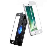 3D cubrió por completo la película suave del teléfono del vidrio Tempered del borde para el iPhone 7/7 protector más