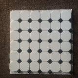 Mattonelle di mosaico di marmo di pietra Polished naturali per il pavimento & la parete