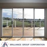 Puder-überzogene Aluminiumrahmen-schiebendes Glas-Tür mit Standard As2047