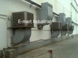 Dispositivo di raffreddamento di aria evaporativo del sistema industriale di raffreddamento ad acqua