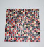 Muffe delle mattonelle di mosaico del marmo di alta qualità di prezzi bassi, mosaico di pietra di marmo
