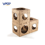 Pet Toy Cardboard Cat House Preço Cat Play House