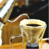 Double Wall Pour Over Coffee Maker