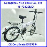la plus défunte bicyclette électrique se pliante intelligente d'entraînement moyen E de type de 20 pouces de 36V 10ah
