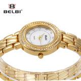 Montre noble de bracelet de diamant de cadran de Dmall de diamant de tendance de mode de montre de dames de Belbi