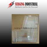 Soem fasten billig transparenter schneller Plastikprototyp des Acryl-PMMA, indem er CNC maschinell bearbeitet