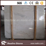 Chinesische orientalische weiße östliche weiße Marmorpolierplatte für Bodenbelag