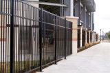 品質方向づけられたさびない粉の上塗を施してあるIndustialの防御フェンス