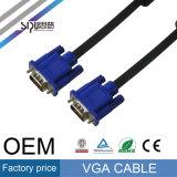 Cabo do áudio do cabo do VGA da alta qualidade de Sipu M/M M/F 3+5