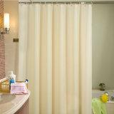 Tenda di acquazzone impermeabile della stanza da bagno del solido PEVA della Anti-Muffa superiore (13S0038)