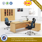 Стол белизны и директора офиса CEO комбинации дуба (NS-ND076)