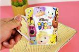 Tazas de té coloreadas diseño original a granel barato de cerámica, tazas de té baratas negras