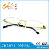 Стекел Eyeglass Eyewear высокого качества рамка Semi-Rimless Titanium оптически (8409)