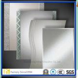 China 2 fabricante de aluminio 3 4 5 6m m biselado del espejo con Ce y el certificado del SGS