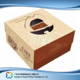 食糧ケーキ(xc-fbk-028)のためのかわいいボール紙のペーパー包装ボックス