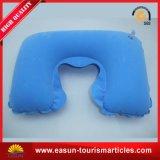 Almofada de pescoço inflável confortável para avião