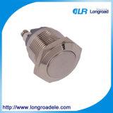 19mm de Drukknop Switch/HS16h-10jn van het Metaal met CCC, Ce, RoHS