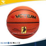 Talla oficial 7 de la PU de la bola de cuero genuina del baloncesto