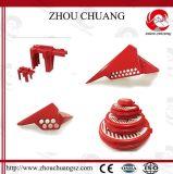 Zc-F05高品質の7つの穴との調節可能な球弁のロックアウト