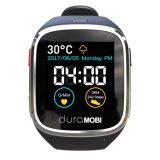 A tela de toque IP65 de 1.54 polegadas Waterproof o relógio esperto com faixas duplas G/M & Wi-Fi, GPS & a frequência cardíaca dinâmica, ECG, monitoração da pressão sanguínea, lembrança sedentariamente